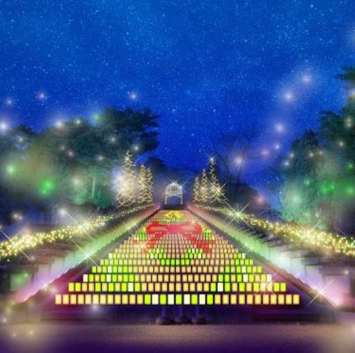 光のスカラ フォレスターレ(絆の階段)