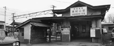 1960 年頃の東村山駅
