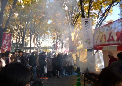 過去の茨城あんこうフェア 風景  画像:茨城県提供