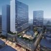 高島屋日本橋店の東と北側に超高層ビルを建設 完成予想図  画像:三井不動産提供