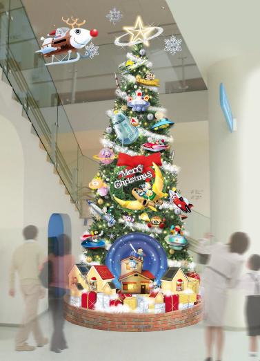 クリスマスツリー 設置イメージ