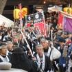 泉岳寺「赤穂義士祭」の風景