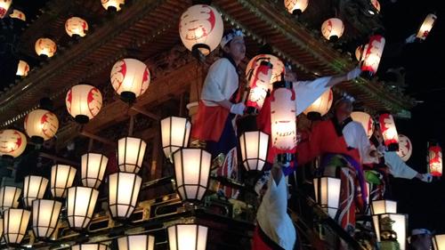 秩父神社の例大祭「秩父夜祭」