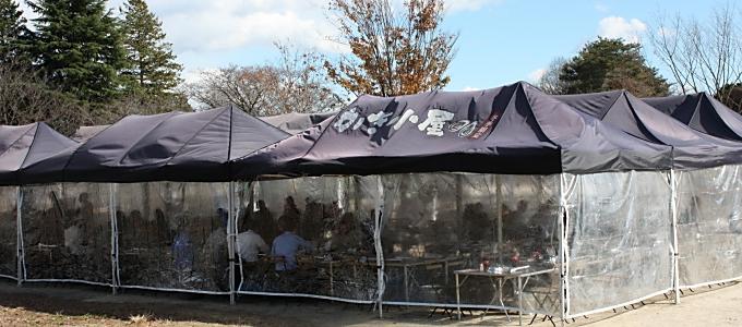 国営昭和記念公園に冬季限定「かき小屋」オープン 寒さ対策も万全で3/29まで
