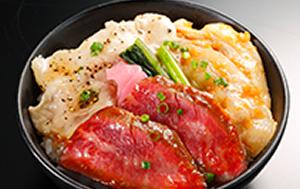「近江三大肉丼」 炭焼き旬彩 いろどり(滋賀県)