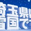 「埼玉県は雪国です」 西武園ゆうえんちに 「雪の王国」が12/20オープン