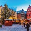 クリスマスシーズンになるとヨーロッパ各地に「クリスマスマーケット」が開催されます(イメージ)
