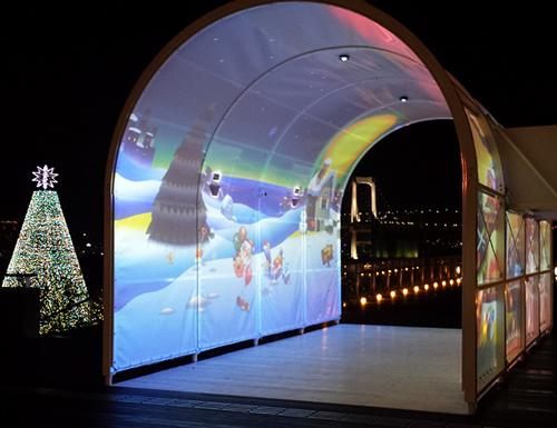 写真はクリスマス限定バージョン 画像:デックス東京ビーチ提供