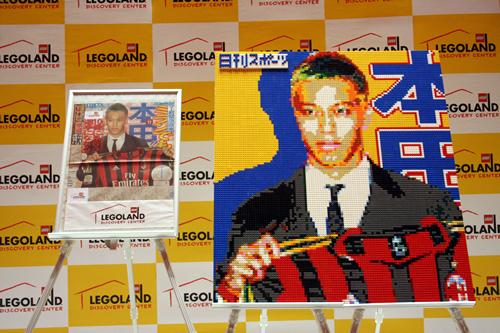 名門ACミランに背番号10番で入団した本田圭佑選手