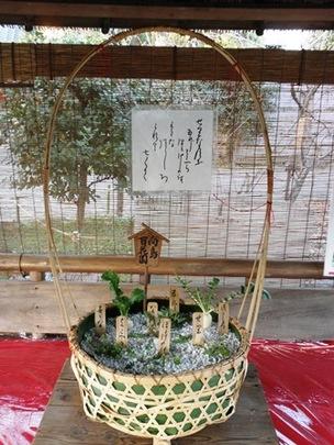 ジャンボ七草籠
