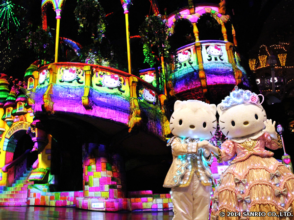 プロジェクションマッピングと光のショー「ミラクリュージョン★クリスマススペシャル」がKさんのクリスマスソングを起用して再登場
