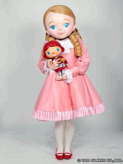 パレード「ARIGATO EVERYONE!ハッピークリスマス」に映画「くるみ割り人形」の主人公クララが特別出演!