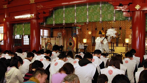 「祈願串」の大願成就を祈願する「祈願串成就祭」