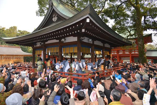 武蔵一宮氷川神社 節分祭