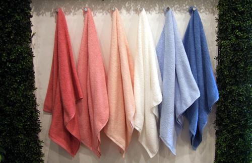 ホットマンで製造されたタオル