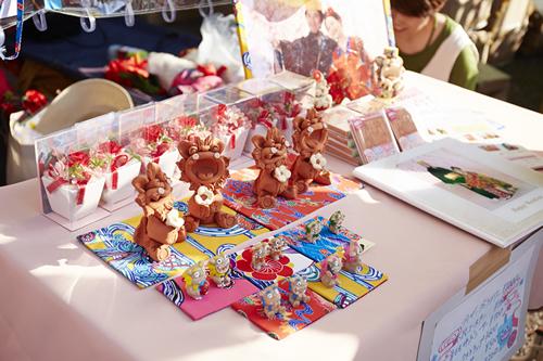 かわいいシーサー 沖縄雑貨も多数