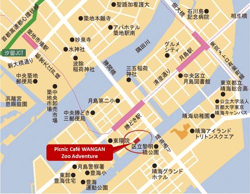 最寄り駅 都営地下鉄大江戸線「勝どき駅」徒歩約5分