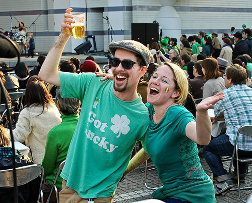 アイルランドの魅力が詰まったセントパ トリックス・デー のイベント