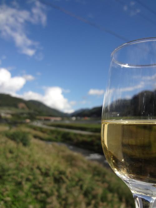 シャンモリワインと日川