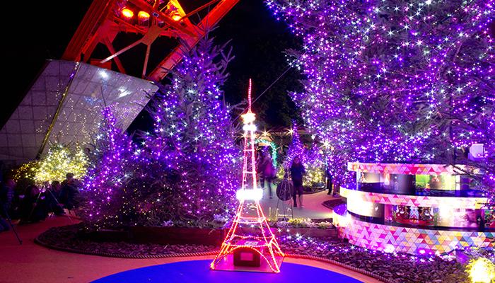 東京タワー ウィンターファンタジー『くるみ割り人形』イルミネーション