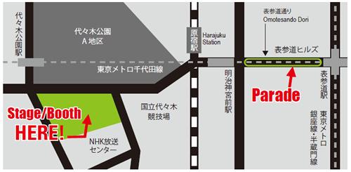 会場マップ 広域