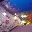 銀座線上野駅が「桜」の全面装飾で華やかに!改札や階段、壁がピンク色