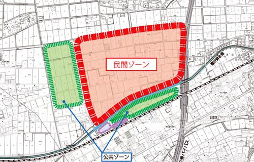 アウトレット事業用敷地 画像:深谷市花園 IC 拠点整備プロジェクト募集要項