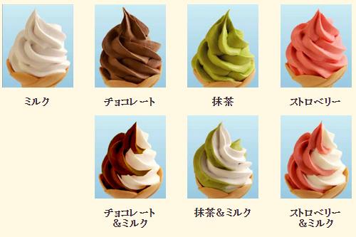ケーキシェフが材料を厳選した手作りの 花園フォレストオリジナル高級ソフトクリーム