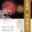 舎人公園で3,000発の花火!「春の花火と千本桜まつり」が4月4日(土)、5日(日)