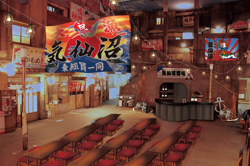 新横浜ラーメン博物館が気仙沼一色に