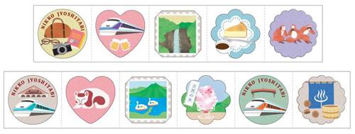 「日光女子旅ロールシール」イメージ