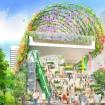 渋谷・宮下公園が2019年、花と緑に囲まれたライフスタイル発信拠点にリニューアル!