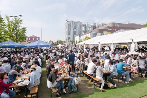 日本で楽しめる最大の屋外ドイツビールイベント