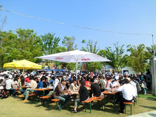 開催はゴールデンウィーク!新緑の中、ドイツビールとドイツ料理、音楽で満喫