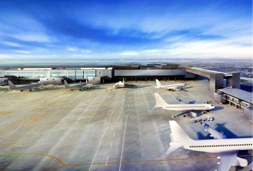 第3旅客ターミナル外観(イメージ図)