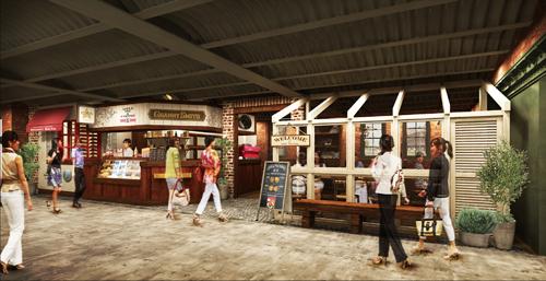「グラニースミス アップルパイ&コーヒー 横浜店」 外観イメージ