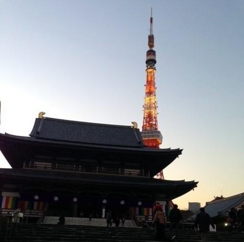 会場の芝大門 増上寺