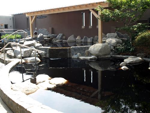 女風呂かけ流し「源泉岩風呂」