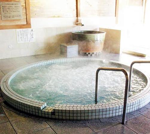 強力なジェット噴流の「ジャグジー風呂」