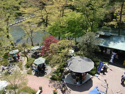澤乃井園 多摩川のほとりにある美しい庭園