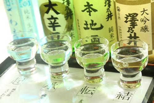 澤乃井の大吟醸など人気ラインナップ
