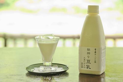 「ままごと屋」朝搾り豆乳(にがり付き)