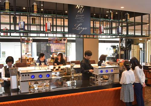 試飲もできるコーヒーの複合施設「UCC コーヒーアカデミー東京」が東京・港区にオープン
