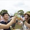 ベルギービールの祭典「ベルギービールウィークエンド横浜 2015」が海を望む山下公園で5月21日から