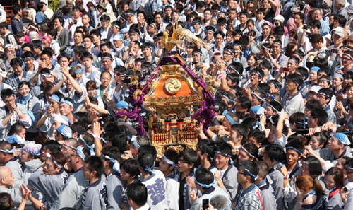日本三大祭「神田祭」が 2015年5月7日(木)から 絢爛豪華な行列と勇壮な神輿