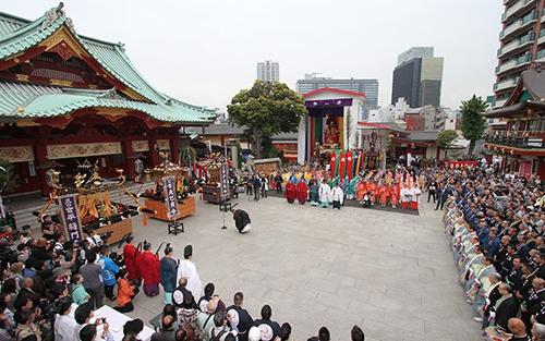 神幸祭 神田祭のメインの神事