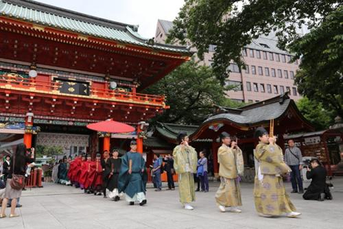5月15日(金)神田明神の年中行事のなかで最も大切な神事「例大祭」