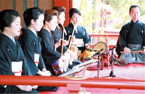 5月9日(土)「天下祭社中 長唄奉納演奏」