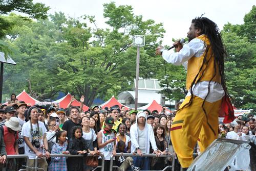 「ワンラブジャマイカフェスティバル 2015」が5月30日、31日に代々木公園で開催