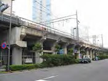 現在のJR秋葉原-御徒町駅間 高架下写真(開発前)